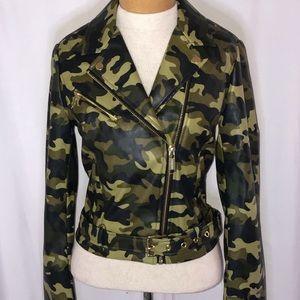 Michael Kors camouflage/smoky olive  jacket
